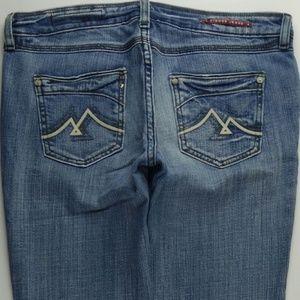 Vigoss Straight Leg 9 Juniors Jeans Stretch C404P